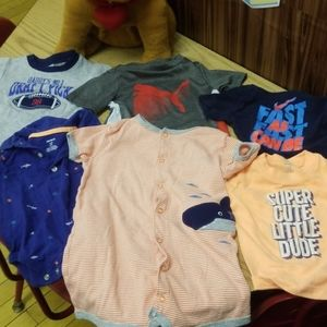 Carters shirts size 12. 6 shirts for the price of